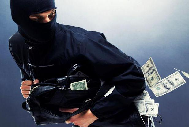 Открытое хищение чужого имущества: ст. 161 УК РФ в 2020 году, наказание